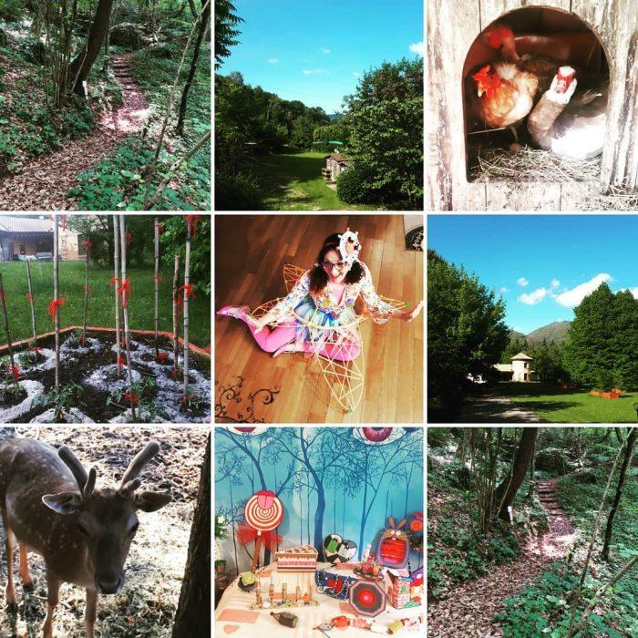 creativity camp settimane di arte e agricoltura in Catena Rossa